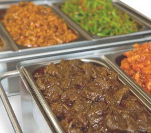 Indische gerechten, Indonesisch catering, afhaal