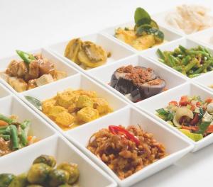 Indische gerechten, catering, afhaal